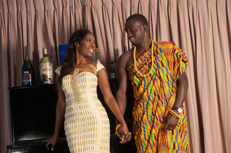 Kente Ideas/styles for Ghanaian traditional wedding