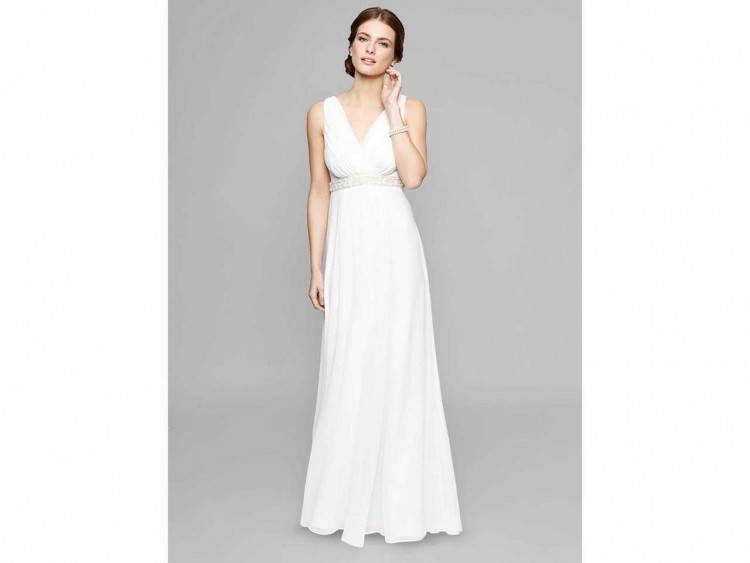Isabelle Armstrong mermaid wedding dress with illusion neckline