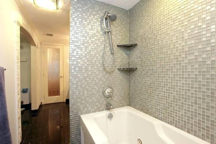 small shower tub