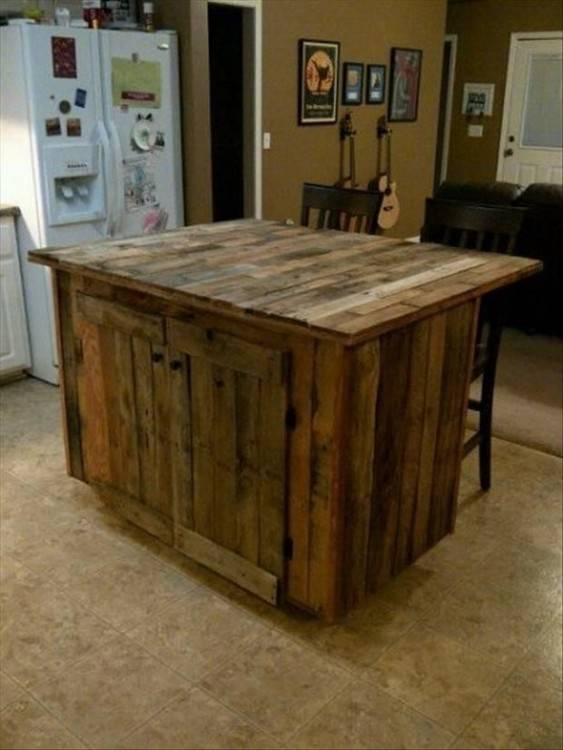 pallet outdoor kitchen outdoor bar ideas