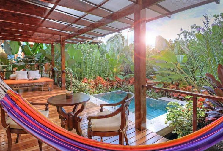 Enjoy a Jungle Shower at Danyasa Eco Retreat in Costa Rica