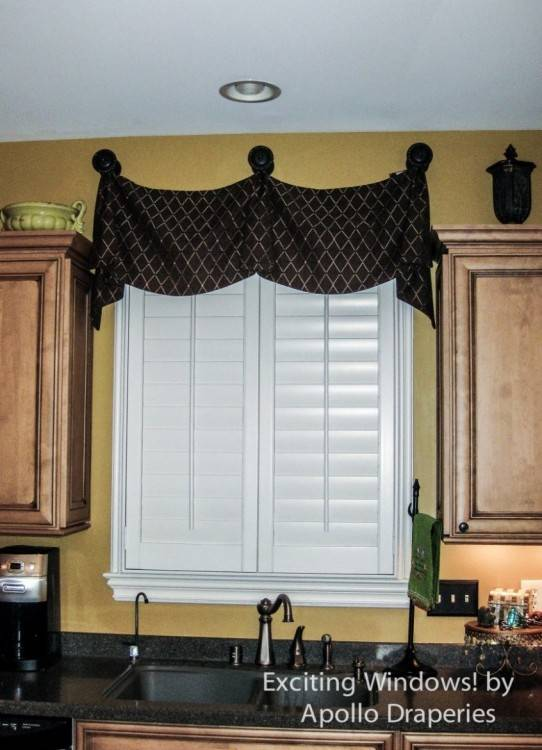 living room valances ideas