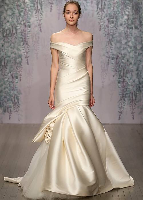 White and Gold Wedding