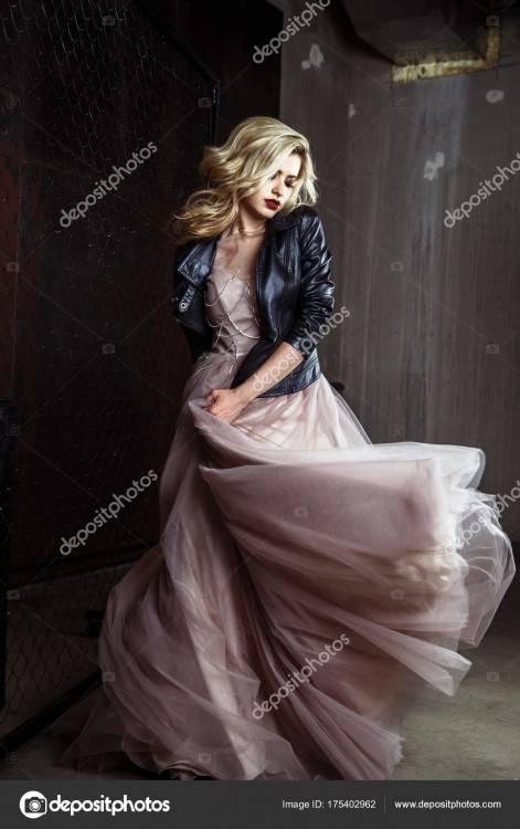 rock style, fashion beauty photo