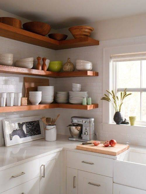 Small Kitchen apartment cabinet organization ideas