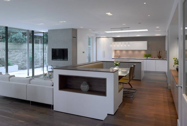 open plan kitchen living room ideas