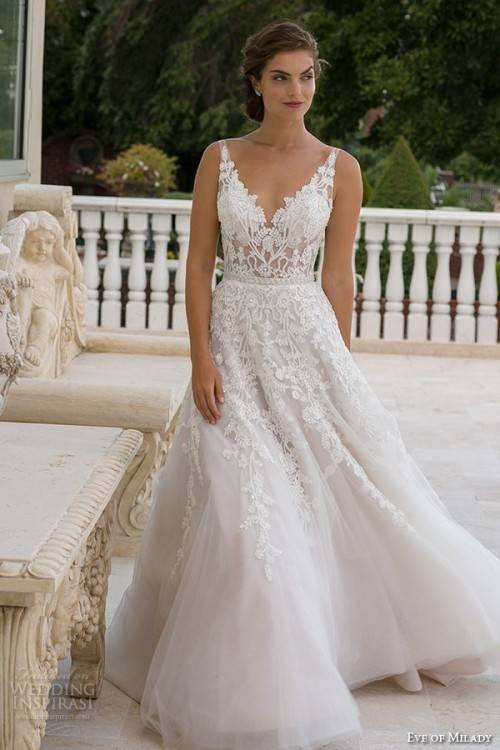 Champagne Wedding Dress for Brides Over 40,50,60