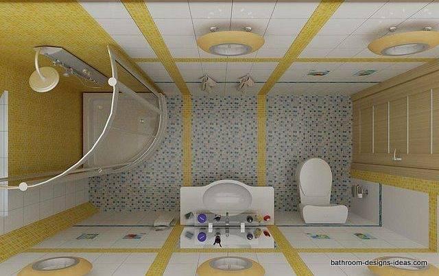 [Bathroom Design] Small Rectangular Black And White Minimalist Bathroom