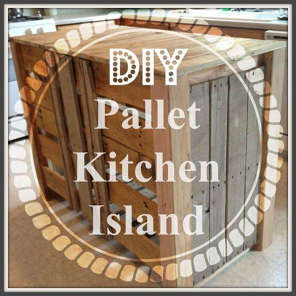 Along our tour, I will share 23 DIY kitchen projects on working with pallets