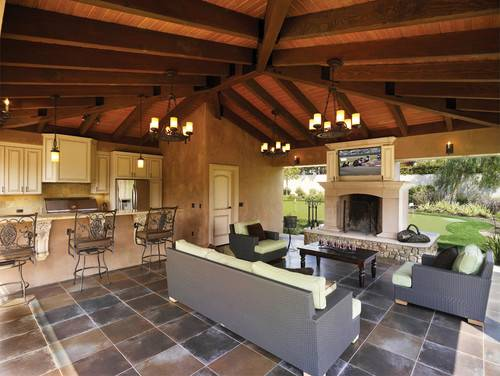 in the summertime as the porch – porch, patio, veranda, deck… whichever outdoor space it is that you have at your home