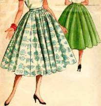 1950s — conservative and restrained; certainly more classic in style and  design, it was the glamour decade