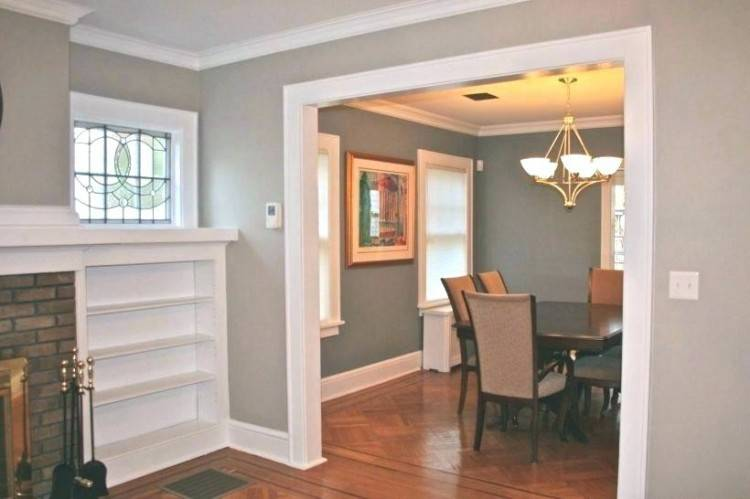 wainscoting painting ideas gray dining room