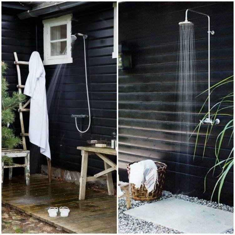 pool showers outdoor