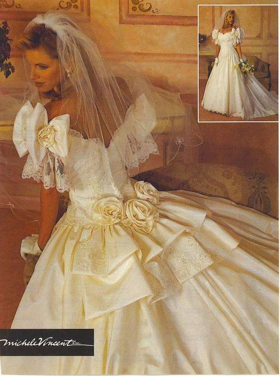 Charlene Maroni · 1990's wedding gowns & dresses