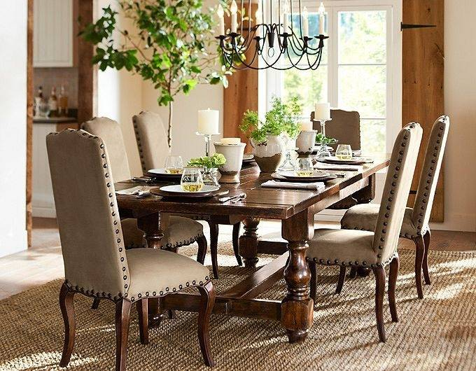 scroll to previous item pottery barn tables benchwright table reviews banks extending dining grey