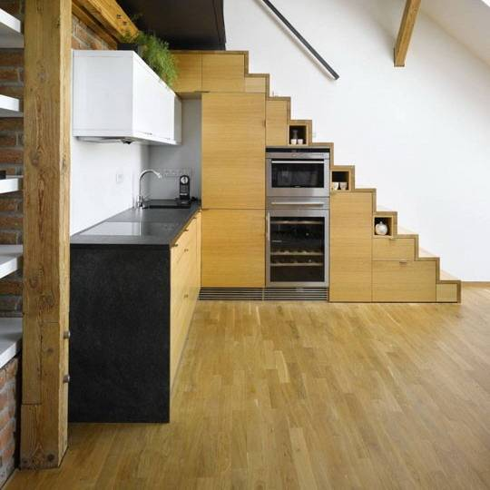 New Staircase Ideas Inspirational Collection 57 Luxury Kitchen Design Under Stairs New York Spaces Magazine