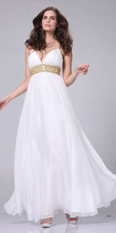 Ivory and Grace Greek Goddess Style Wedding Dresses | Confetti