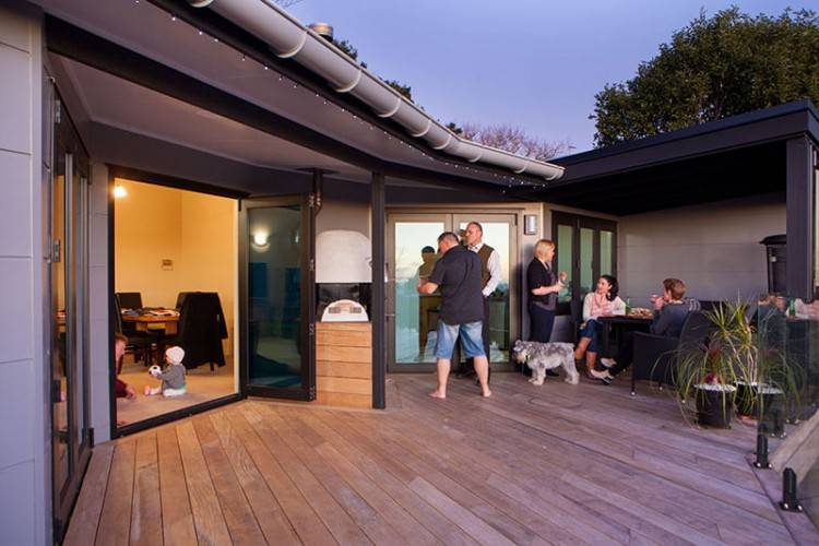 With the addition or improvement of an outdoor living space, you will be making use of every square foot of your property, during any season