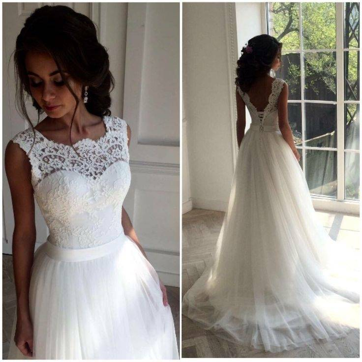 Discount 2018 Cap Sleeve Elegant Wedding Dresses Vintage Lace Mermaid Country Style Bridal Gowns Court Train With Beads Plus Size Maid Of Honor Dresses