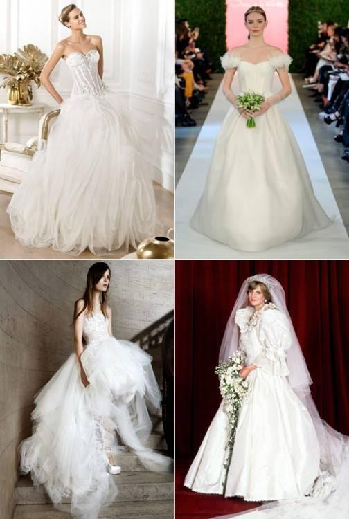 1980s Wedding Dress; Feminin