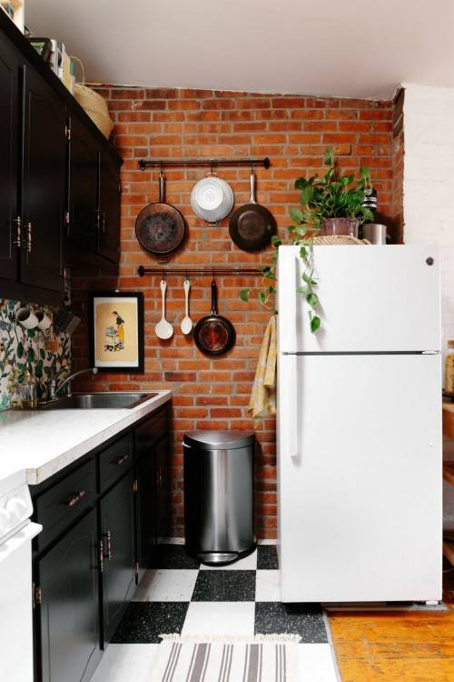 This is precisely why maximizing space is such a key component of designing  the perfect small apartment kitchen