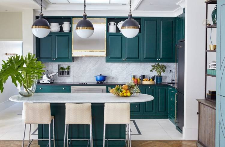 turquoise kitchen decor ideas
