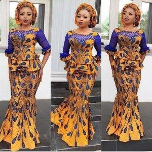 Best short lace gown styles in Nigeria! Lace dresses are the main trend in 2018