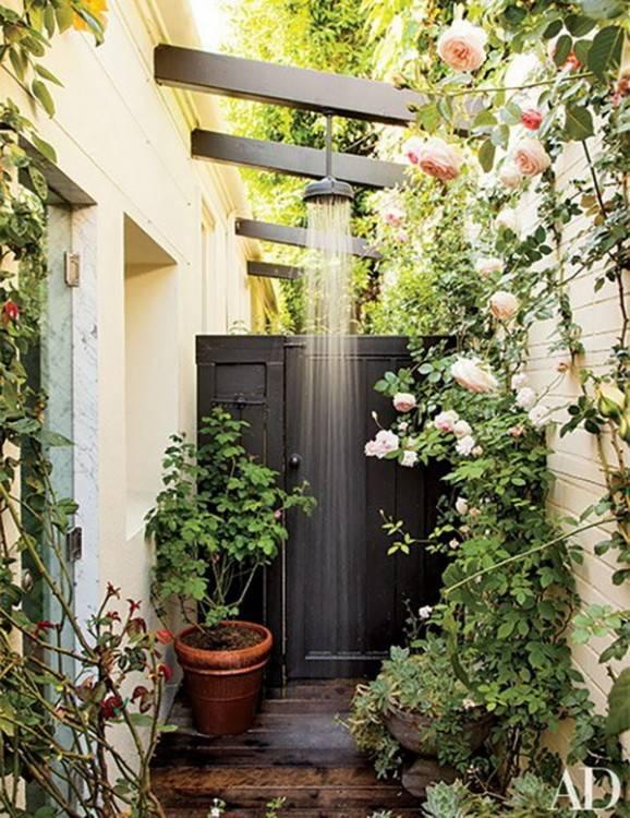 Melia Buenavista: Outdoor showers Great on sunny days