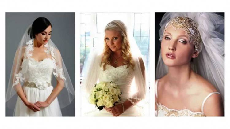 Wedding Dress Hairstyle Veil