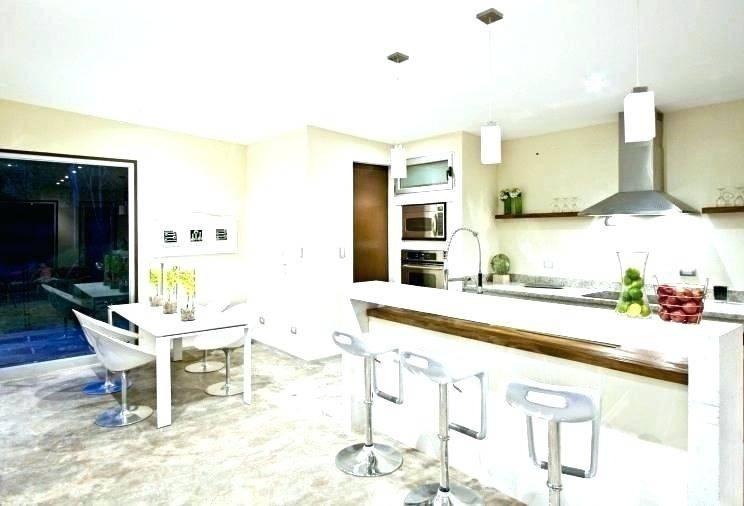 rectangular kitchen