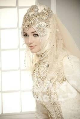 Chic Muslim Wedding Dresses Throughout Dress Hijab Style Brides Dream  With Jeon