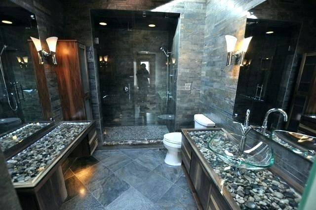 stone tile bathroom designs bathroom farmhouse white tile and stone tile  bathroom