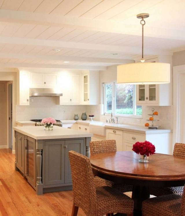 ranch style kitchen table home kitchens