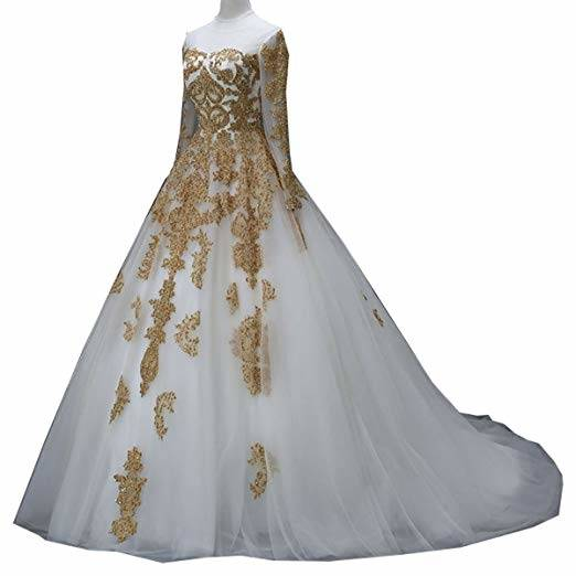2018 New Meghan Markle Style A Line Elegant Wedding Dresses