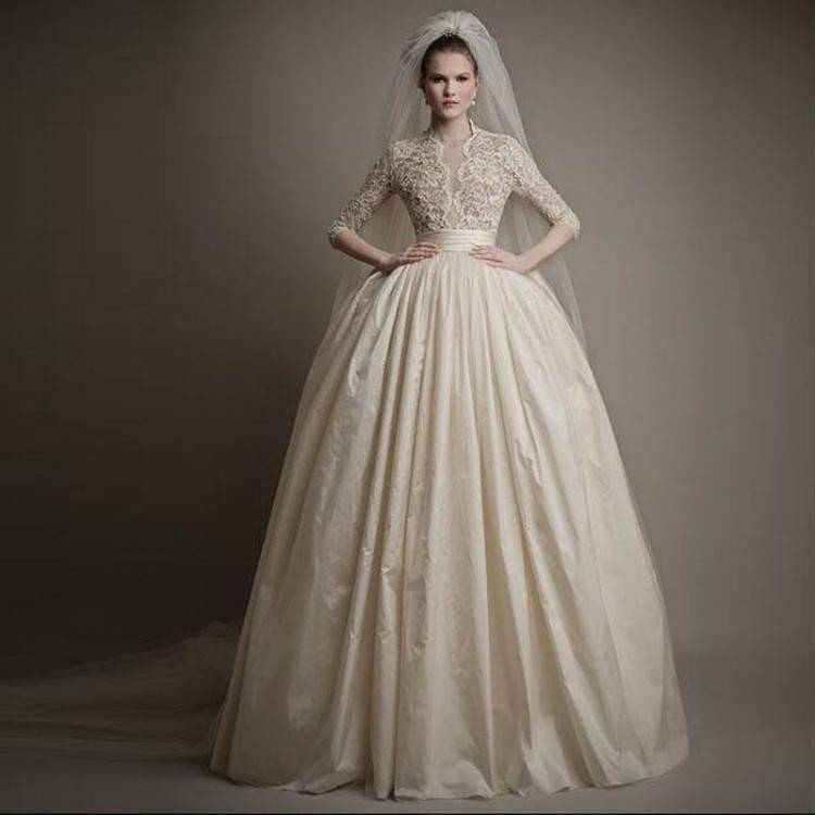Home; European wedding dresses