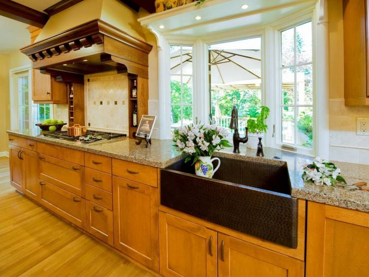 Copper Kitchen Countertops