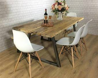 8m Refectory table is still a very  big table that can seat 10 people with great comfort