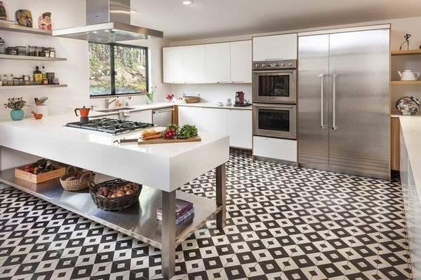 Slate Floor Tile Kitchen Ideas by showyourvote