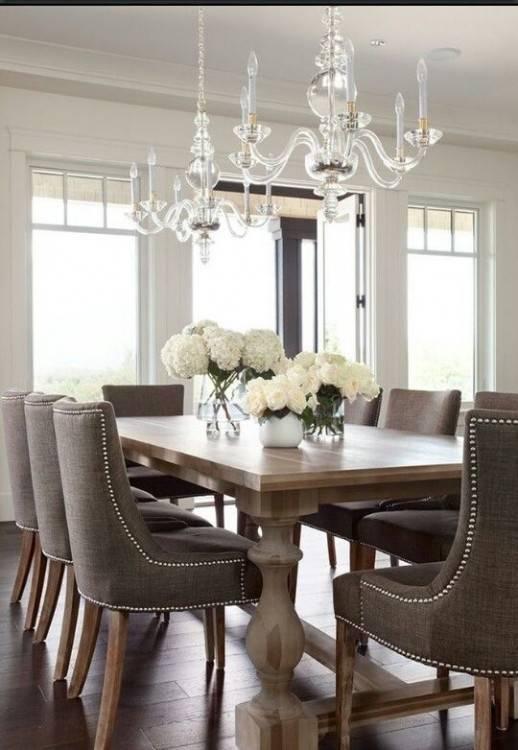 floor to ceiling bookshelves dining room