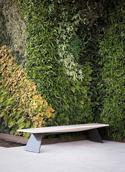 LiveWall provides outdoor green wall systems for virtually any climate
