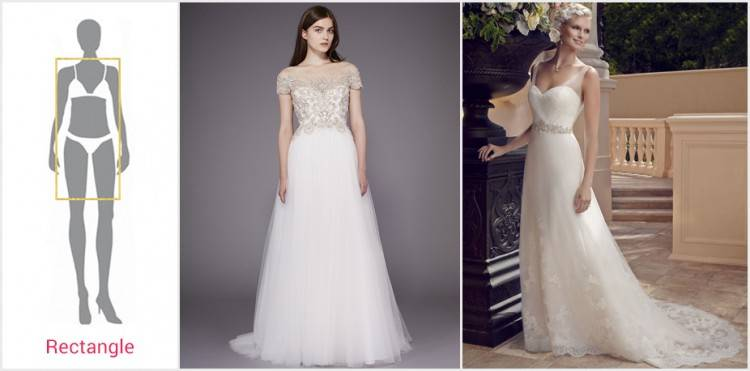 Bridal Gown Necklines! Find the perfect style for your body type