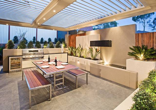 Design Build was able to create a beautiful outdoor living room