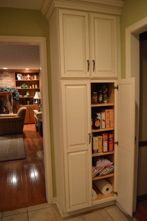 Pantry Kitchen Cabinet in Cognac