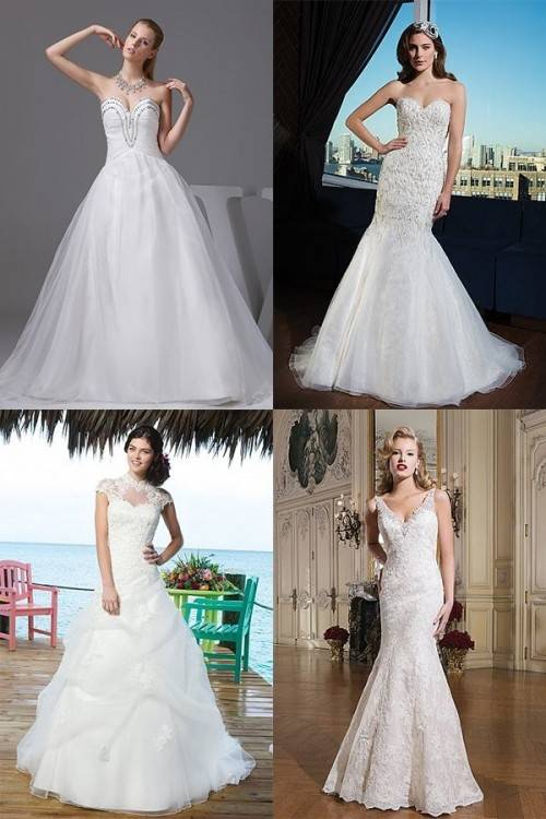 How to Choose The Best Wedding Dress Shape For Your Body (BridesMagazine