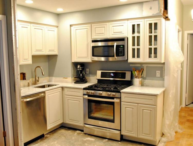 small kitchen diy makeover wonderful affordable