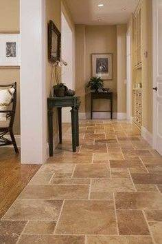 Tile is a wise choice for kitchen floors because it's durable, easy to  clean and long lasting