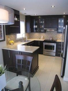 small square kitchen designs new impressive ideas design for room