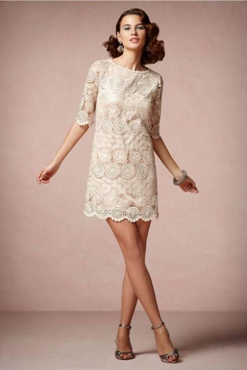 Pretty Dresses, Short Wedding Dresses, Mums Dresses, Dresses Styles,  Vintage Wedding Dresses, Mod Wedding Dress, 60S Wedding Dress, Dress Styles,  Wedding