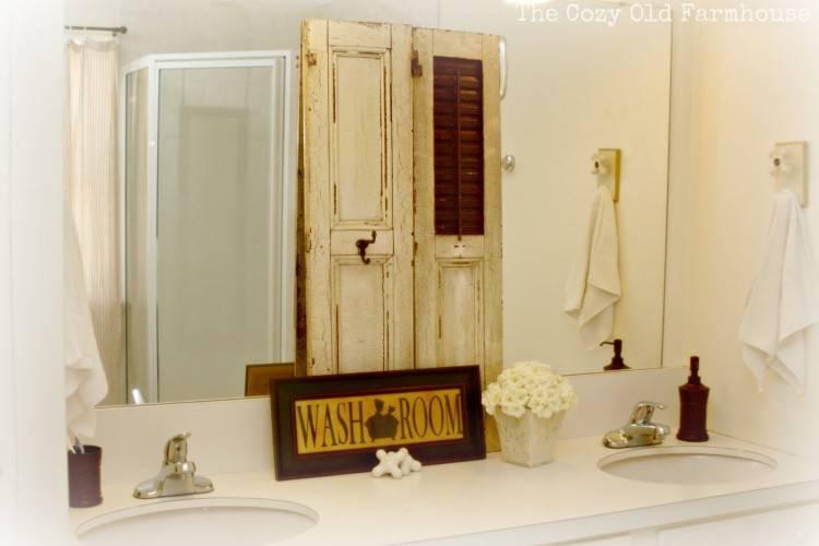small farmhouse bathroom newest bathroom design decor farm house farmhouse  vintage remodel ideas old vanity images