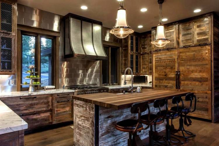 Modern gray kitchen featuring CliqStudios Dayton cabinet style in Painted Urban Stone gray